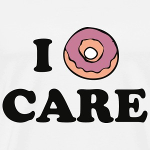 I Donut Care - Men's Premium T-Shirt