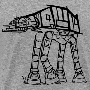 AT-AT Imperial Walker [Artist Rendering 1] Men's P - Men's Premium T-Shirt