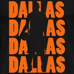 Dallas Basketball T-Shirts - Men's Premium T-Shirt