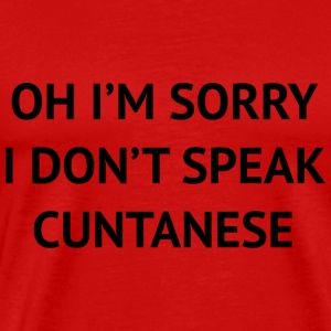 I Don't Speak - Men's Premium T-Shirt