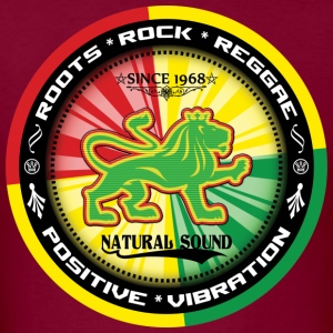 roots rock reggae positive vibration T-Shirts - Men's T-Shirt