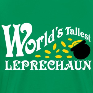 World's Tallest Leprechaun Shirt St. Patrick's Day T-Shirts - Men's Premium T-Shirt