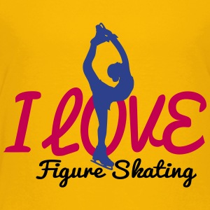 I love figure skating KidsT-shirt - Kids' Premium T-Shirt