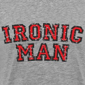 IRONIC MAN Red (Distressed)