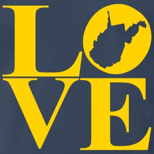 wv love T-Shirts - Men's Premium T-Shirt