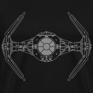 SKYF-01-019 TIE Fighter Star Wars - Men's Premium T-Shirt