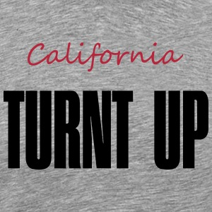 California Plates, Rep Your State - Men's Premium T-Shirt