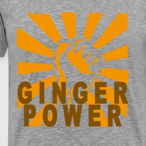 ginger_power_m - Men's Premium T-Shirt