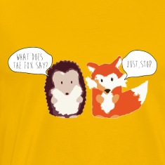 Fox Hedgehog Fox Say T-Shirts