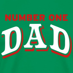 Number one Dad T-Shirts - Men's Premium T-Shirt
