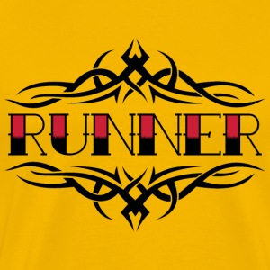 TRIBAL RUNNER - Men's Premium T-Shirt