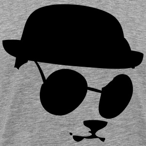 Bear in sunglasses Men's 3XL 4XL T-Shirt - Men's Premium T-Shirt