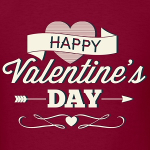 Happy Valentine's Day - Men's T-Shirt