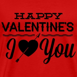 Happy Valentine's - Men's Premium T-Shirt