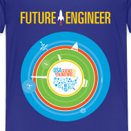 Design ~ Toddler Future Engineer Shirt (Front Design Only)