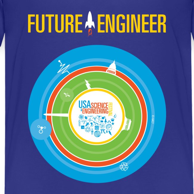 Toddler Future Engineer Shirt (Front Design Only)