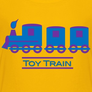 Toy Train - Kids' Premium T-Shirt