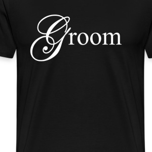 Groom T-Shirts - Men's Premium T-Shirt