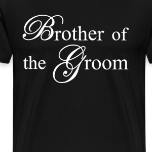 Brother Of The Groom T-Shirts - Men's Premium T-Shirt
