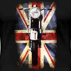 Biker's heaven Vintage BSA 1948  by patjila2 Women's T-Shirts