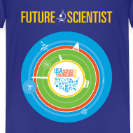 Design ~ Toddler Future Scientist T-shirt (Front Design Only)