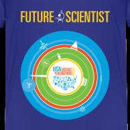Design ~ Toddler Future Scientist T-shirt (Front Design Only)