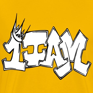 1IAM GRAFFITI T-Shirts - Men's Premium T-Shirt