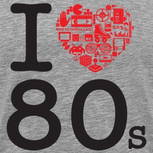 I love 80's T-Shirts - Men's Premium T-Shirt