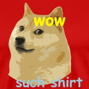 Much doge T-Shirts - Men's Premium T-Shirt