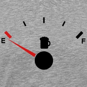 Beer tank indicator Empty  - Men's Premium T-Shirt
