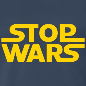 stop wars Shirt - Men's Premium T-Shirt