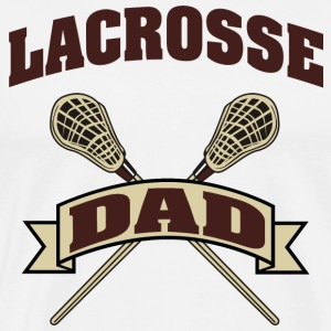 Lacrosse Dad T-Shirt - Men's Premium T-Shirt