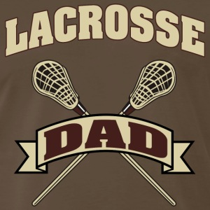 Lacrosse Dad Dark T-Shirt - Men's Premium T-Shirt