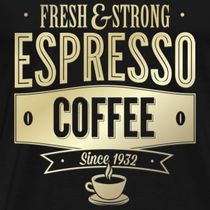 Espresso Coffee - Men's Premium T-Shirt
