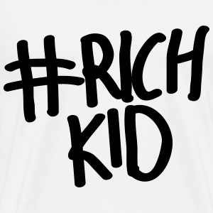 Rich Kid #richkid - Men's Premium T-Shirt