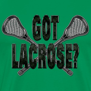 Got Lacrosse Dark T-Shirt - Men's Premium T-Shirt