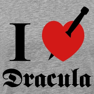 I love (to kill) Dracula T-Shirts - Men's Premium T-Shirt