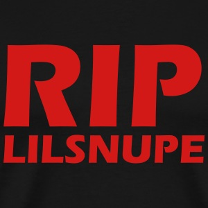 rip lilsnupe t-shirt - Men's Premium T-Shirt