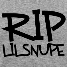 rip lil snupe t-shirt