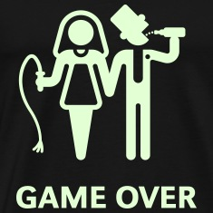 Game Over (Whip and Beer) T-Shirt