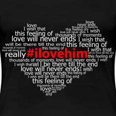 #ilovehim Women's T-Shirts