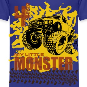 4 Ever My Little Moster Truck Shirt Baby & Toddler Shirts - Toddler Premium T-Shirt