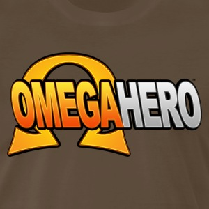 Omega Hero Logo (Men) - Men's Premium T-Shirt