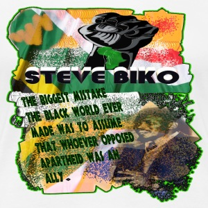 Steve Biko (ladies tee) - Women's Premium T-Shirt