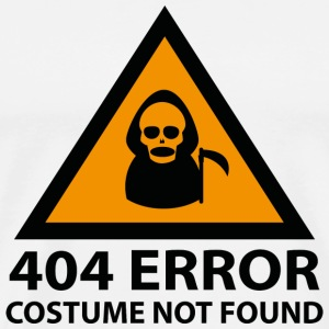 404 Error : Costume Not Found - Men's Premium T-Shirt
