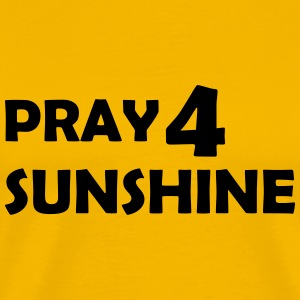 pray for sunshine T-Shirts - Men's Premium T-Shirt