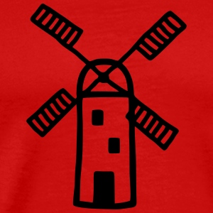 Windmill - wind power T-Shirts - Men's Premium T-Shirt