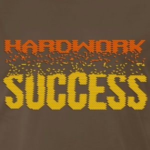 Hardwork Builds Success - Men's Premium T-Shirt