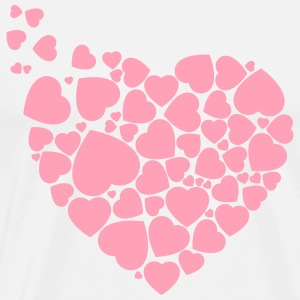 Hearts for Valentine´s - Men's Premium T-Shirt