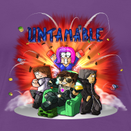 Design ~ Ladies T Shirt: UNTAMABLE!